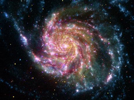 宇宙への旅人 渦巻銀河M101