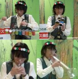 手作り楽器でクリスマス楽団 1