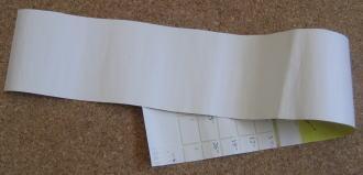リース型紙マラカス 作り方1
