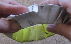 リース型紙マラカス 作り方12