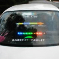 ソフトカーの最高速度表示コンセプト