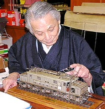 原信太郎と「FS E626」模型