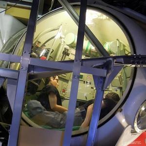 しんかい6500操縦室