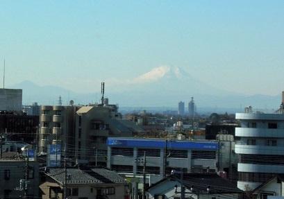 富士山も拝める好天気