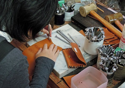 革細工に挑戦