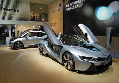 BMW i8とi3