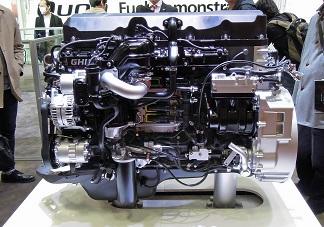 UDトラックスGH11エンジン