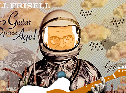 Bill Frisell caricature