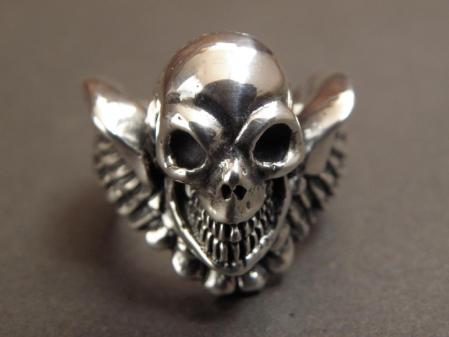gaboratory,gabor,silver,ring,skull,hells angels,ガボラトリー,ガボール,シルバー,スカル,リング