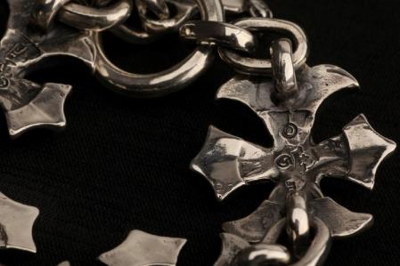 gaboratory,gabor,silver,bracelet,gothiccross,ガボラトリー,ガボール,シルバー,ブレスレット,ゴシッククロス