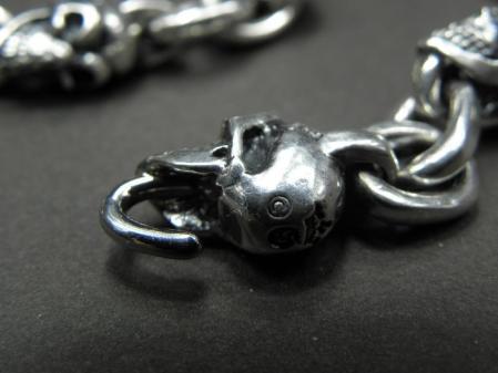 gaboratory,gabor,silver,skull,necklace,ガボラトリー,ガボール,シルバー,スカル,ネックレス