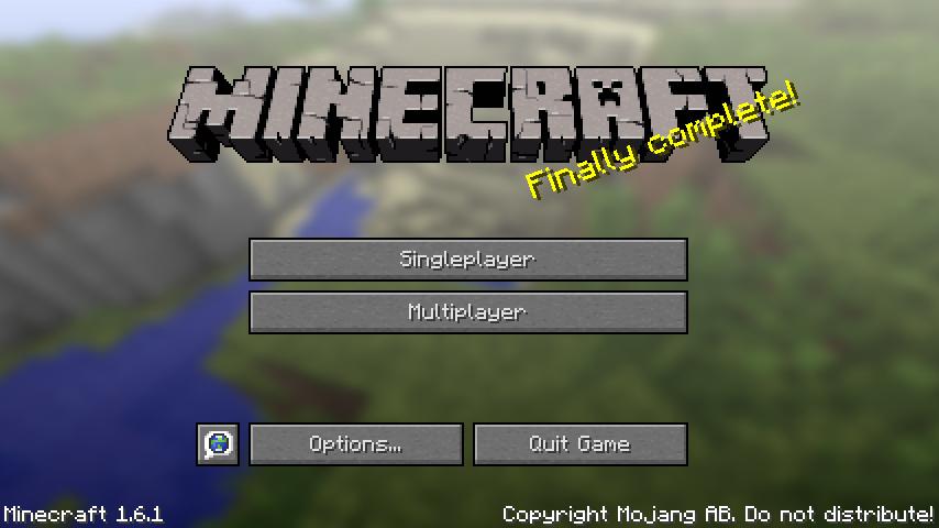 minecraft 1-6-1
