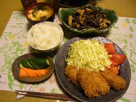 3牡蠣フライ定食