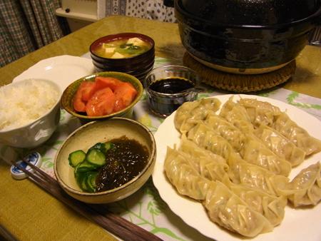 2焼き餃子定食