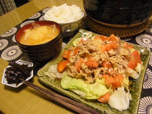 4冷しゃぶサラダ定食