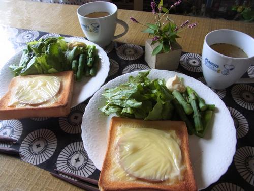 9ハムチーズトーストランチ