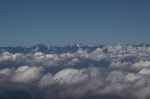 雲海と北アルプス2