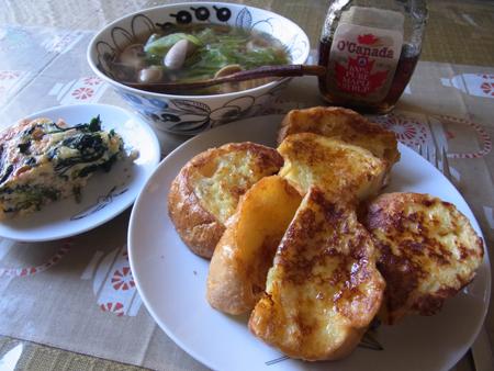 5フレンチトースト定食