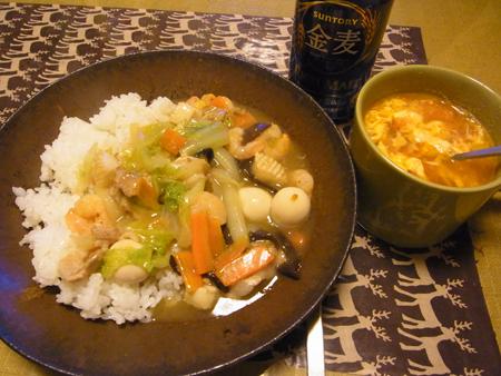 1中華丼定食