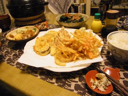 3天ぷら定食
