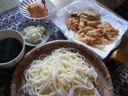 4天ぷらうどんランチ