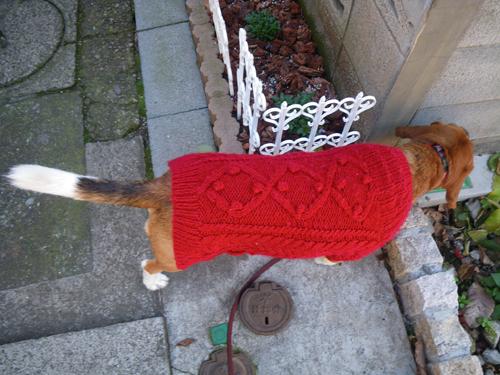 赤いセーターその2-2