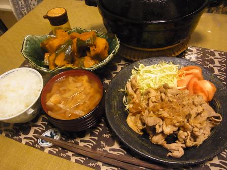 3豚生姜焼き定食