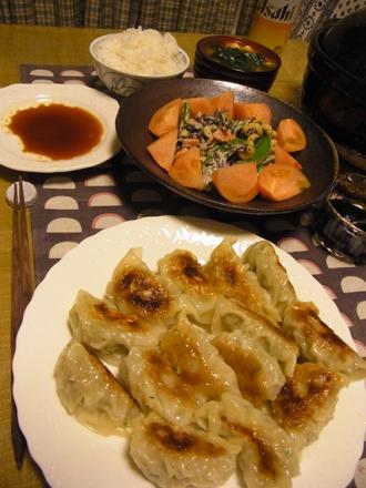 3焼餃子定食