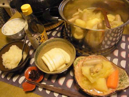 6ポトフ鍋定食