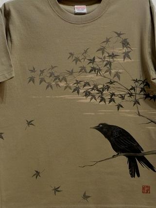 カラス Tシャツ 2012819