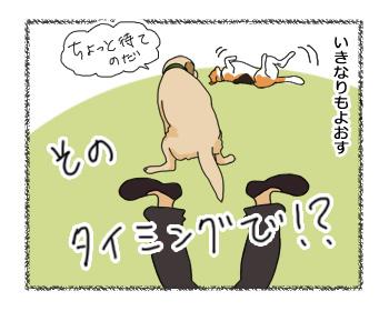 羊の国のラブラドール絵日記シニア!!犬4コマ漫画4