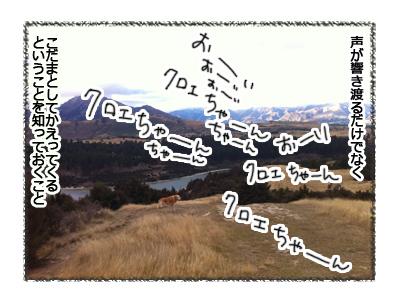 羊の国のラブラドール絵日記シニア!!お散歩アウトドア心得2