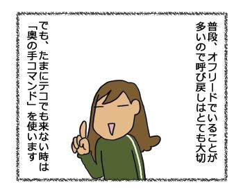 羊の国のラブラドール絵日記シニア!!奥の手コマンド1