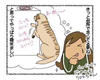 羊の国のラブラドール絵日記シニア!! 4コマ漫画微笑ましい4