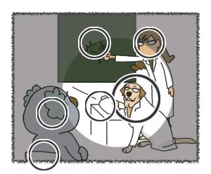 羊の国のラブラドール絵日記シニア!!クイズ答え合わせ1