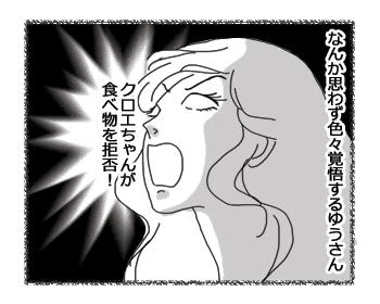 羊の国のラブラドール絵日記シニア!! 4コマ漫画「超!肉食系女子」2