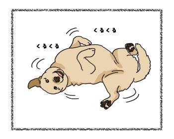羊の国のラブラドール絵日記シニア!!4コマ漫画「来たよ、来ちゃったよ」3
