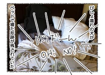 羊の国のラブラドール絵日記シニア!!「シンデレラの靴」漫画2