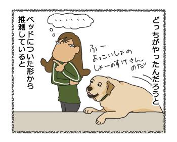 羊の国のラブラドール絵日記シニア!!「シンデレラの靴」漫画4