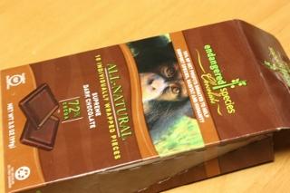 Endangered Species Chocolate, Milk Chocolate with Cherries