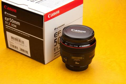 CANON EF50mm F1.2L   箱