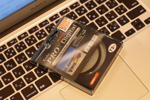ケンコー レンズプロテクター 72mm MacbookAir