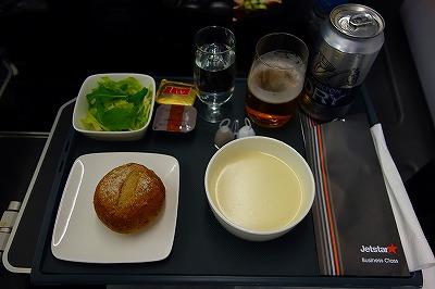 ジェットスタービジネスクラス・機内食