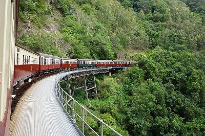キュランダ鉄道ストーニークリーク橋