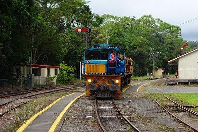 キュランダ鉄道・機関車