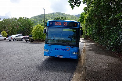 スカイレール~ケアンズ市内バス