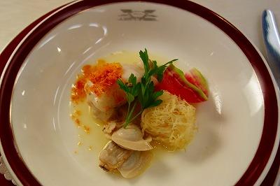 トワイライトエクスプレス フランス料理 魚