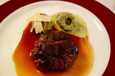 トワイライトエクスプレス フランス料理 肉