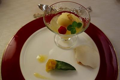 トワイライトエクスプレス フランス料理 デザート