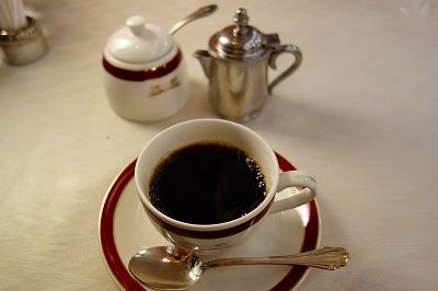 トワイライトエクスプレス フランス料理 コーヒー